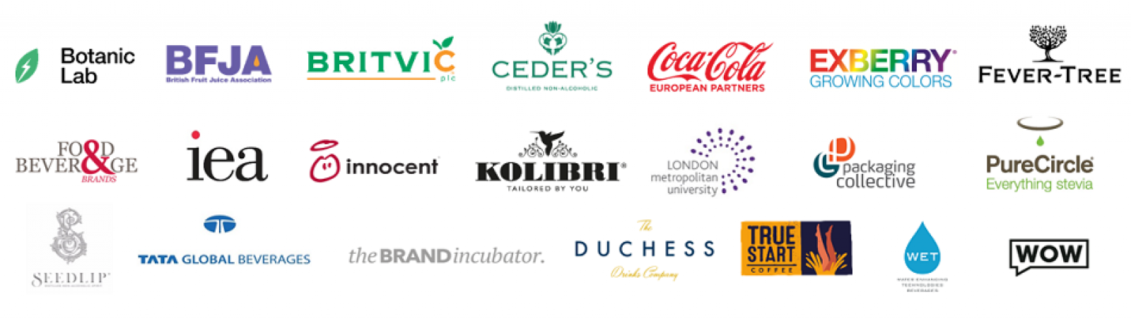 2019 UK Soft Drinks Conference Logo Wall